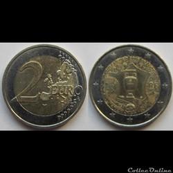 2 euros EUFA 2016