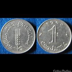 1 centimes Epi 1962