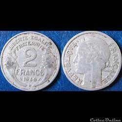 2 francs Morlon 1949 B