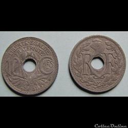 10 centimes LINDAUER, (zinc, cmes soulig...