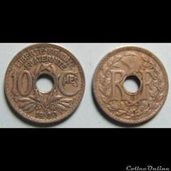 10 centimes LINDAUER 1920