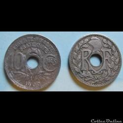 10 centimes LINDAUER 1930