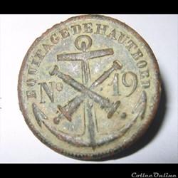 19 R équipage de Haut bord 1810-1814