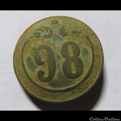 98e RI Second Empire 1844-1871
