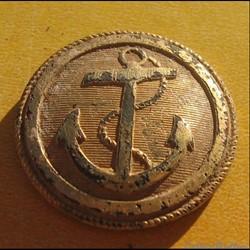 officier de marine doré à l'ancre - 1830 à 1842