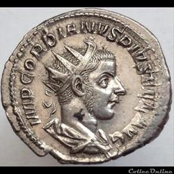 Gordien III - Antoninien - Martem Propvg...