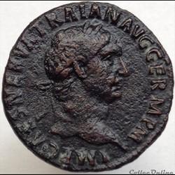 Trajan - As - TR POT - COS III P P - RIC 417