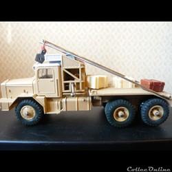 camion pétrolier saharien