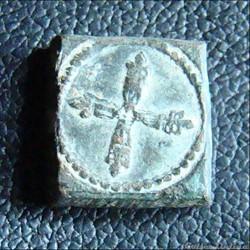 Huitième d'écu argent d'Henri III à Louis XIV