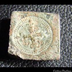 Demi quart d'écu en argent d'henri III à louis XIV