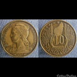 10 Francs 1953