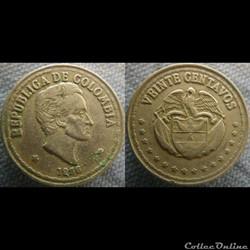 20 Centavos 1956