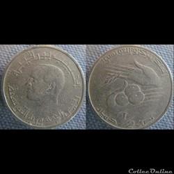 1/2 Dinar 1983