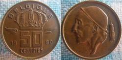 50 centimes 1980 FR
