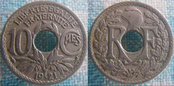 10 Centimes 1921