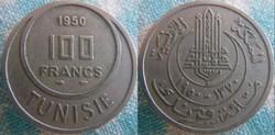 100 Francs 1950