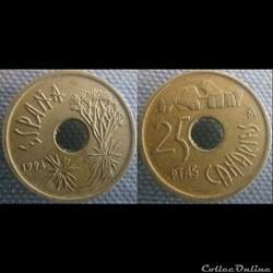 25 pesetas 1994