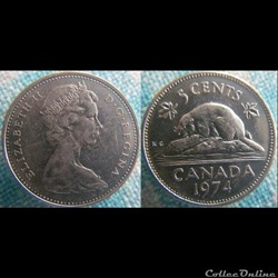 5 Cents 1974