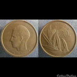 20 Francs 1982 fl