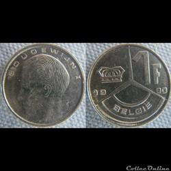 1 Franc 1990 fl