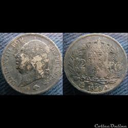 2 Francs 1823 A