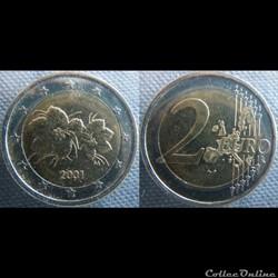2 euros 2001