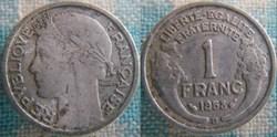 1 Franc 1958 B
