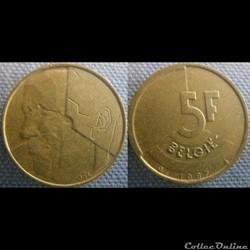 5 Francs 1987 fl