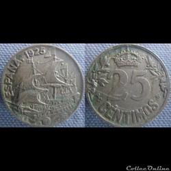 25 Centimos 1925