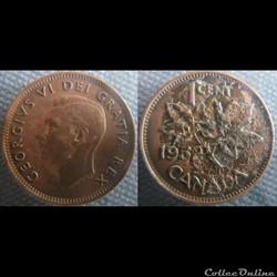 1 Cent 1952