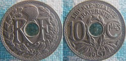 10 Centimes 1937