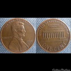 1 Cent 1995 D