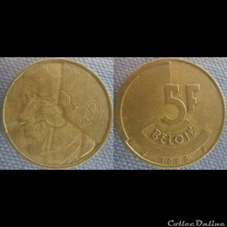 5 Francs 1986 fl