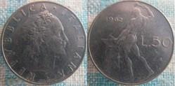 50 Lire 1962