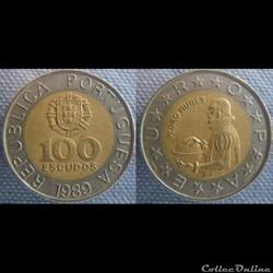 100 Escudos 1989
