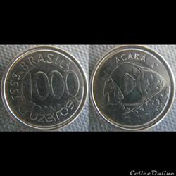 1000 Cruzeiros 1993