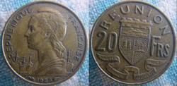 20 Francs 1955