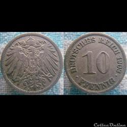 10 pfennig 1903 A