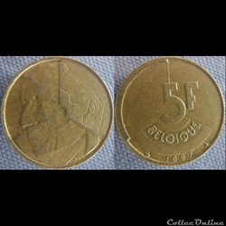 5 Francs 1987 fr
