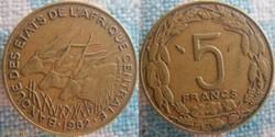 5 Francs 1982