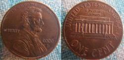 1 Cent 2000 D