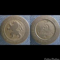 5 Centimes 1861