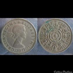 2 Shilling 1963