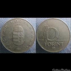 10 Forint 1995