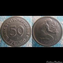 50 Pfennig 1949 G
