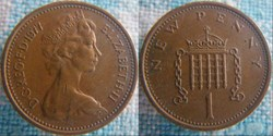 1 New Penny 1977