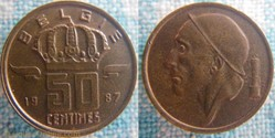 50 centimes 1987 Fl