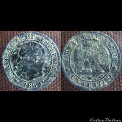 1 Centime 1854 MA
