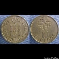 10 Escudos 1988