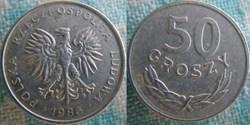 50 Groszy 1986